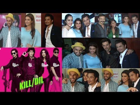 Hrithik Roshan, Vivek Oberoi At Special Screening Of Movie Kill Dil