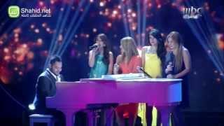 Arab Idol -فارس المدني و المتسابقات