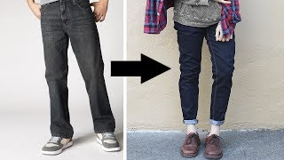 Video Transformation: Loose to Fitted Jeans! MP3, 3GP, MP4, WEBM, AVI, FLV September 2018