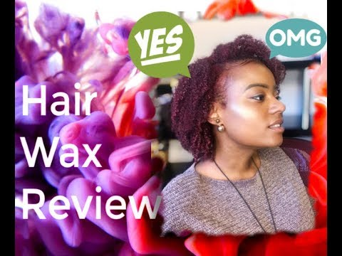 Natural Hair Color - Hair Wax Review [MOFAJANG]