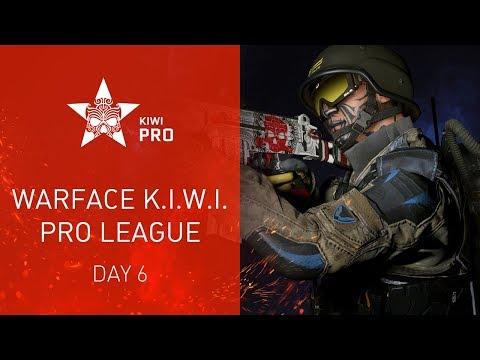 Warface K.I.W.I.: Pro League. Day 6