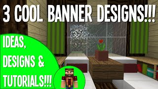 3 COOL BANNER DESIGNS!!! :: MINECRAFT