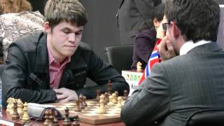 Levon Aronian vs. Magnus Carlsen