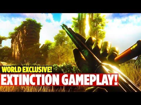 EXCLUSIVE! LEAKED ALPHA EXTINCTION DLC GAMEPLAY! Ark: Survival Evolved Aberration