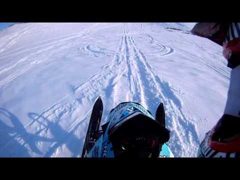 Snowmobile 100 foot turndown whip (видео)
