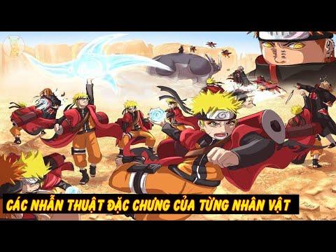 Các Nhẫn Thuật Làm Nên Tên Tuổi Của Các Ninja | Toàn Shinobi Làng Lá Konoha
