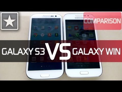 ★Galaxy Win/Grand Quattro | Gaming Comparison | NOVA 3 & Real Racing 3