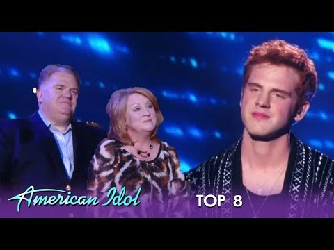 Jeremiah Lloyd Harmon: Emotional Moment As His Parents Join Him On Queen Night   American Idol 2019