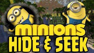 Minecraft MINIONS! The Minion Movie - Hide And Seek! (Xbox/PS3/ Wii U)