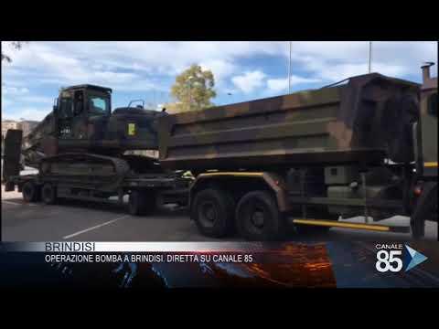 Video - Ιταλία: Μεγάλη επιχείρηση εκκένωσης στο Μπρίντεζι για βόμβα του Β' Παγκόσμιου Πολέμου