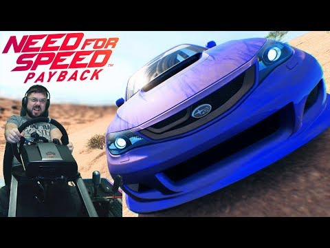 Need for Speed Payback - Нереально захватывающее ралли в неравных условиях на Subaru Impreza WRX STi