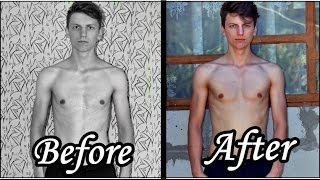 300 half push-ups a day for 30 days Challenge | My body results