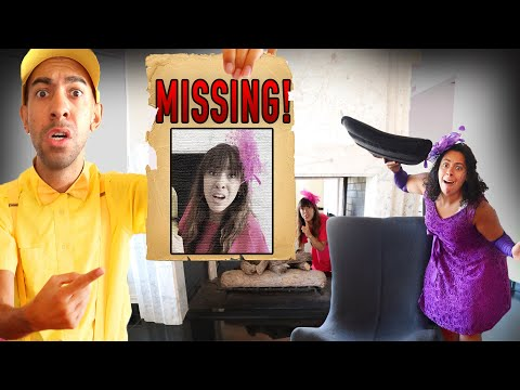 She went Missing! 3AM Hide and Seek in a Haunted Mansion! (Puppet Master!)