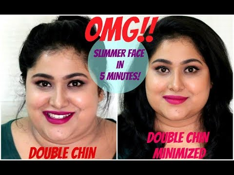 HOW TO REDUCE DOUBLE CHIN INSTANTLY | GET A SLIMMER FACE | NO SURGERY