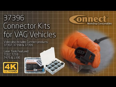 Connector Kits for VAG Vehicles - Connect Workshop Consumables, Featuring Laser Tools Products