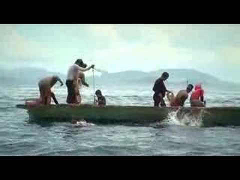 Ambitan – Reef Fishing Technique by Borneo Fishing tribe