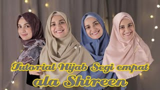Download Video Tutorial hijab segi empat menutup dada ala Shireen MP3 3GP MP4