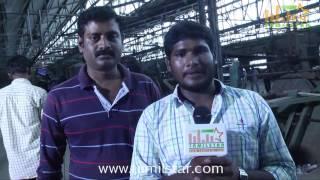 Producer Ravi Kumar at Thiruttu Rail Movie Shooting Spot