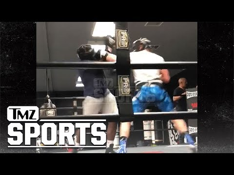 Logan Paul Brutalizes Opponent In Boxing Sparring Sesh   TMZ Sports (видео)