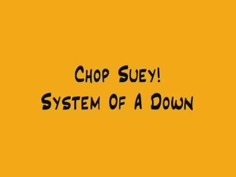 Chop Suey! - System Of A Down +  Lyrics