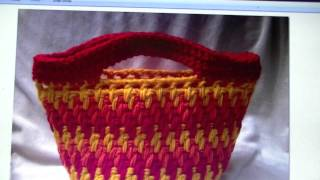 FREE WRITTEN PATTERN - Brick Stitch Bag