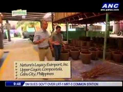 Nature's Legacy and Floreia on ANC Green Living June 3, 2014