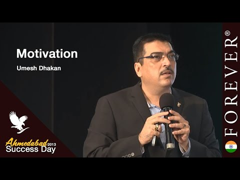 Motivation by Umesh Dhakan at Ahmedabad Success Day