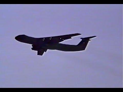 C-141 Flyby at Kadena AB, Japan...