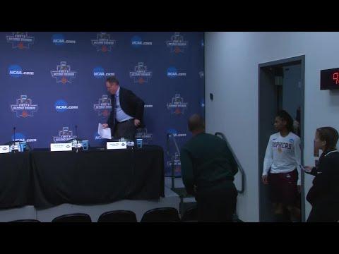 Minnesota Women's Basketball - NCAA Tournament Post Game Press Conference (видео)