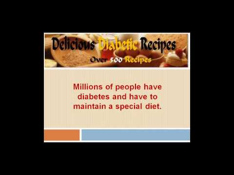 Recipes For Diabetics | Low Fat Recipes : Carrot Cake and Dessert for Diabetic