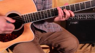 Acoustic Blues Guitar Lesson - Double Stops and Triads for Guitar Solos and Rhythm