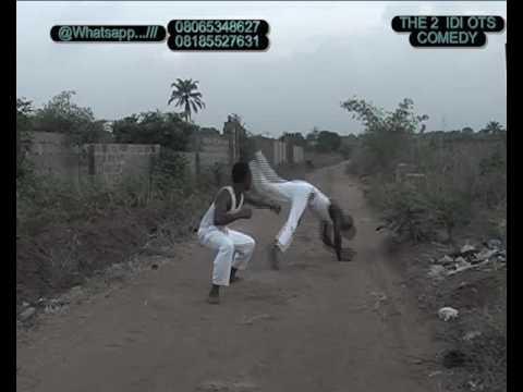 Nigerian kungfu(d 2 idiots comedy)