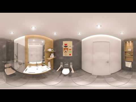 Hotel Bathroom - 360
