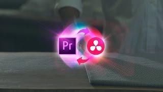 Roundtrip Premiere Pro to Davinci Resolve Color Grading Workflow