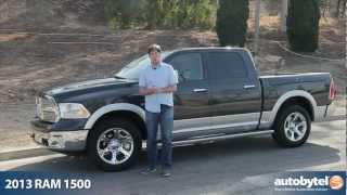 2013 RAM 1500 Laramie HEMI Test Drive&Pickup Truck Video Review
