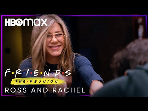 Friends: The Reunion | Ross and Rachel | HBO Max