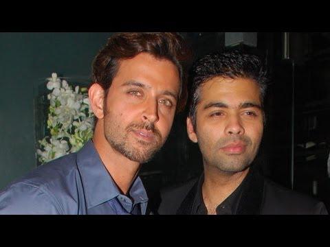 Hrithik Roshan Signs Karan Johar's 'Shuddhi'
