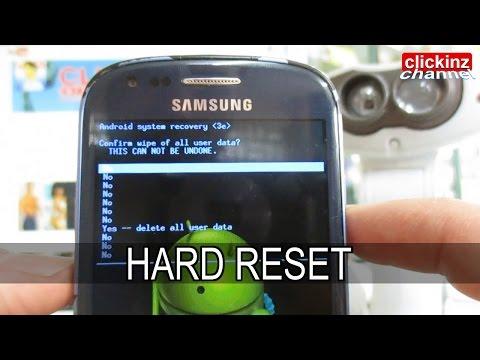 Сброс Настроек Андроид Samsung Galaxy 8190 Mini