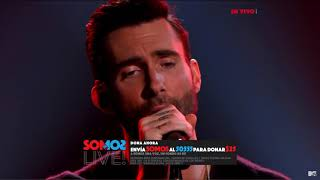 Maroon 5 -  We Are One Voice   SOMOƧ LIVE!