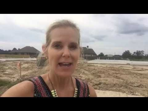 Orleans Run new subdivision in Moss Bluff LA