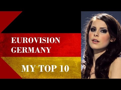 Germany in Eurovision - My Top 10 [2000 - 2016]