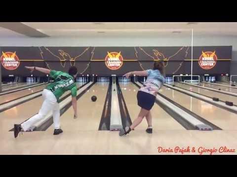 Bowling fun ! Can we strike simultaneously? Daria Pajak and Giorgio Clinaz