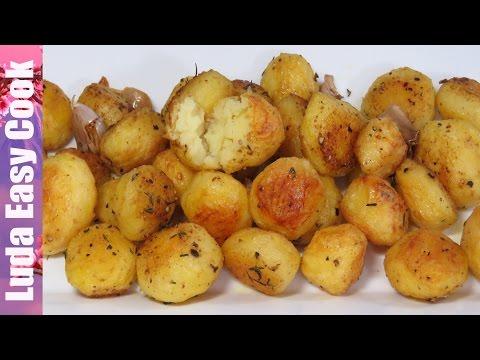 Как сделать вкусное картофель в духовке