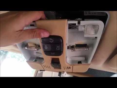 Mercedes Benz 2000 E430 Sunroof Motor Removal