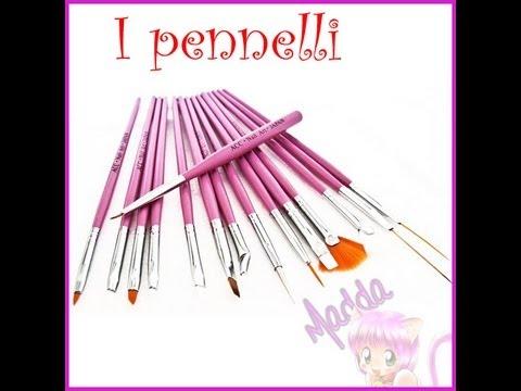 Pennelli nail art o gel - Quali servono e come sceglierli || Madda.fashion