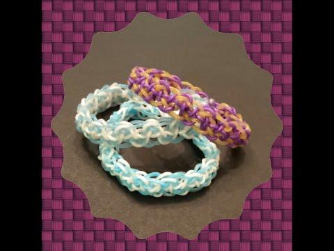 "New ""Ionic Serpant"" Rainbow Loom Bracelet/How to Tutorial"