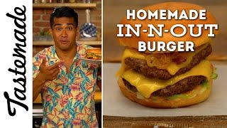 Homemade In-N-Out Burger | The Tastemakers-Jordan Andino by Tastemade