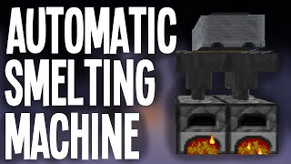 MINECRAFT: Automatic Smelting System!!!
