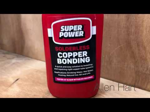 How to Solder Copper Pipe without a flame UK
