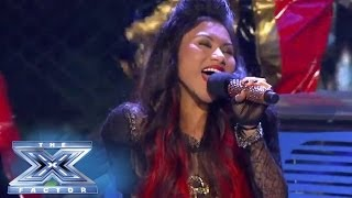 "Ellona Santiago Wants to ""Dance With Somebody"" - THE X FACTOR USA 2013"
